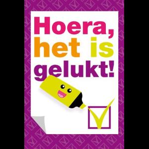 Hoera,-het-is-gelukt!---markeerstift-MAP-Muller wenskaarten.nl-30